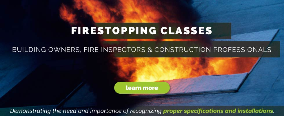 fire stopping classes