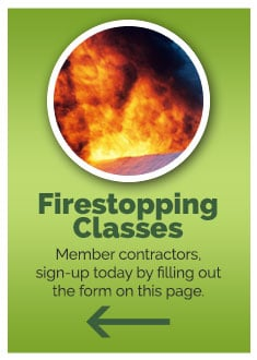 fire stopping classes sidebar