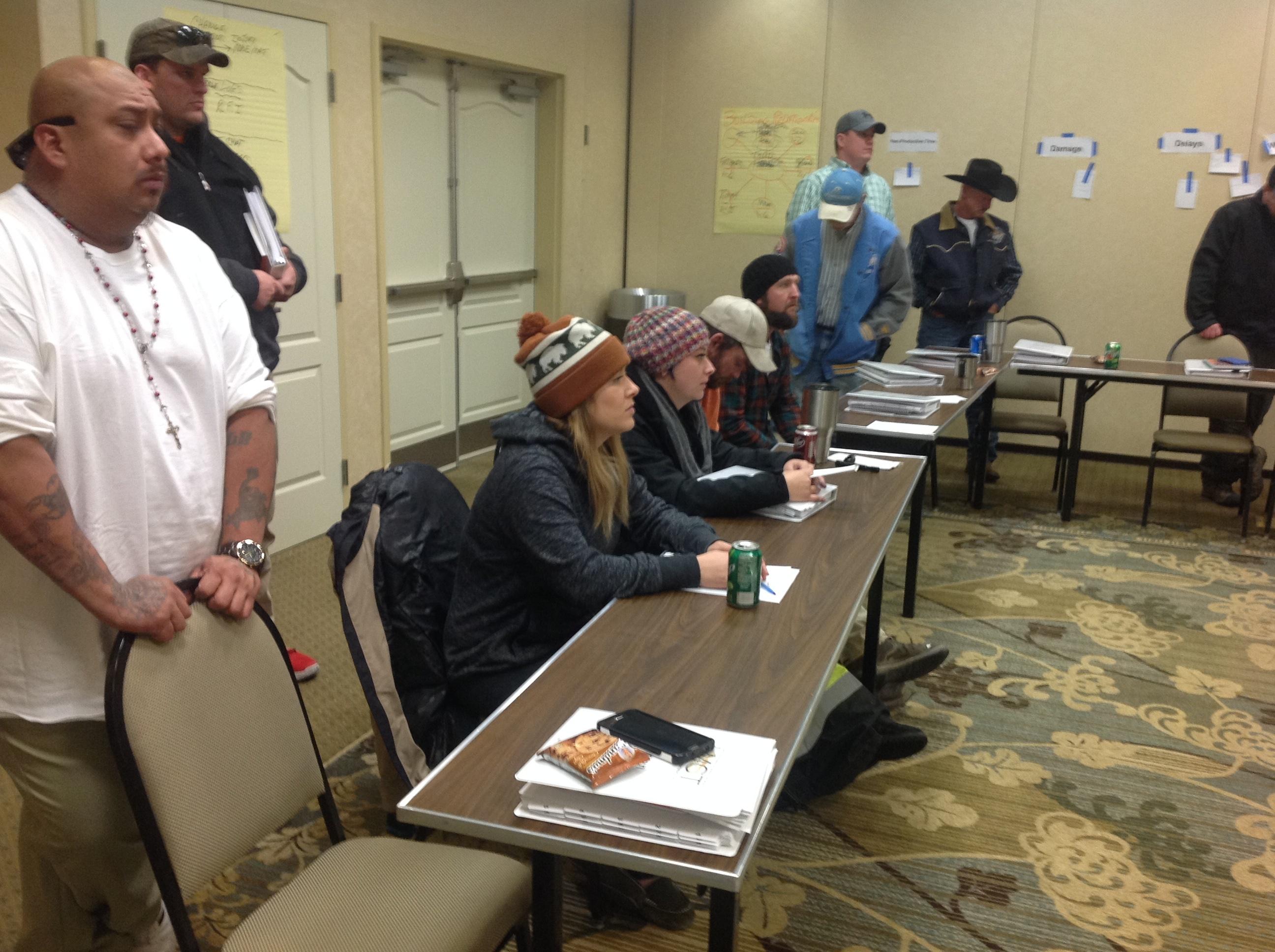 Foreman Training Class in Local 82 Bilings Montana (2)