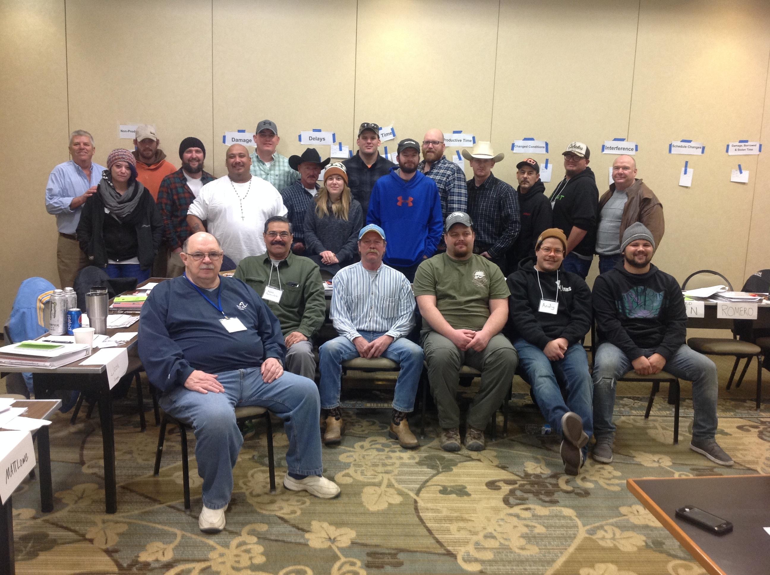 Foreman Training Class in Local 82 Bilings Montana (3)