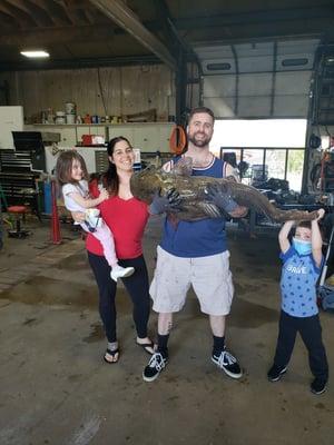Insulators Union - Local 14 Philadelphia, Pennsylvania - Fishing State Record