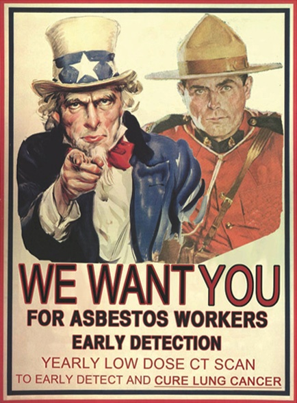 We Want You For Asbestos Workers Early Detection image